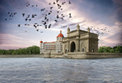 Front view of Gateway of India