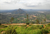 Front view of Nandi Hills