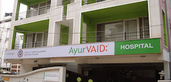 Front view of Ayurvaid
