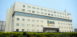 Front view of Fortis Bangalore