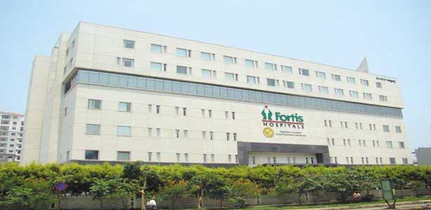 Fortis hospital Bangalore - Front view 1