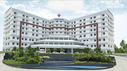 Rajagiri Hospital in Cochin